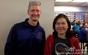 Tim Cook, Visits China For First Time As Apple CEO