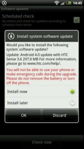 HTC Sensation Gets Android Update In Nordic Countries