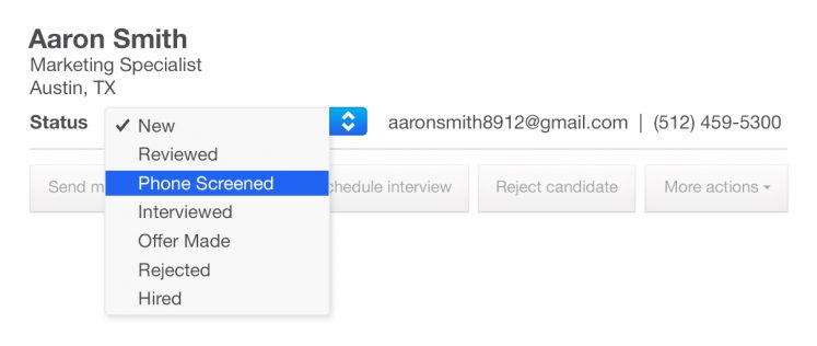 How To Manage Candidates On Indeed