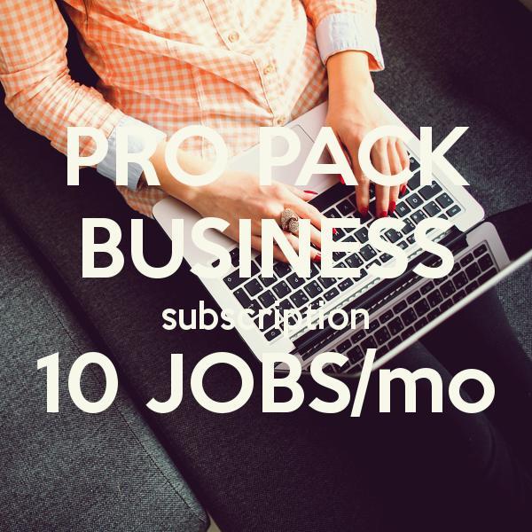 Jobs Bangkok Business Pack 10 Jobs/mo