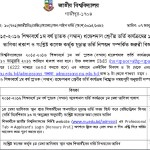 Degree Admission Merit List Result 2016