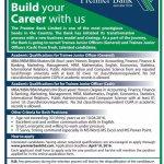 Premier Bank Trainee Junior Officer Job Circular