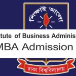 Dhaka University MBA Admission Test 2016 Exam Result (IBA)