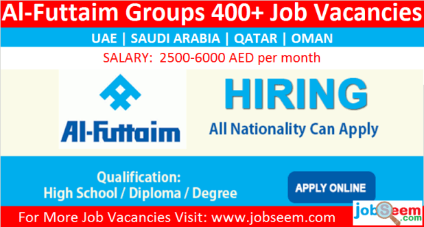 Al Futtaim Careers Hiring, Urgent Recruitment in Multiple Job Vacancies