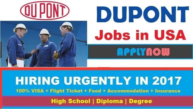 DUPONT Careers Opening | Apply for Dupont Job Vacancies