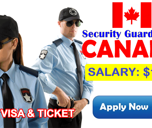 Security Guard Jobs in Canada 2019 Apply Now