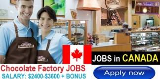 Chocolate Factory Worker Jobs in CANADA 2017 Urgently Wanted Jobs For Foreingers