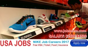 NIKE Careers Urgently Needed Staffs in USA 2017-2018 Apply Now