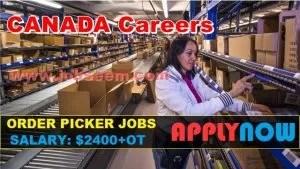 order picker job description