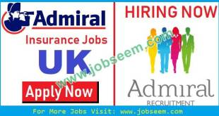 Admiral Jobs Latest Career Recruitment in Admiral Insurance UK