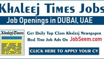 Buzzon Khaleej Times Jobs Today For Freshers May 2021