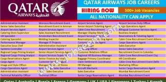 Qatar Airways Careers Multiple Job Vacancies at Qatar Airways