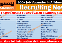 AlMansoori Jobs Vacancies Openings Latest Careers Opportunities at Al mansoori specialized engineering and construction company