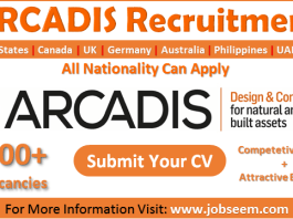 Arcadis Careers New Job Vacancy Openings and Employee Recruitment