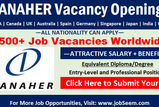 Danaher Careers Hiring in Danaher Corporation Jobs and Latest Vacancy Openings
