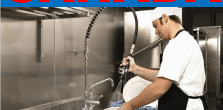 Dishwasher Jobs in Canada Part Time and Weekend Jobs in Toronto Calgary