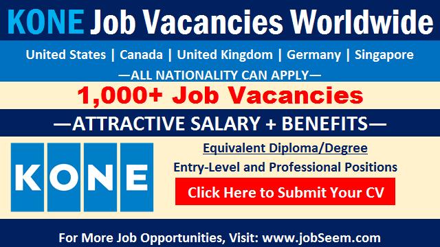 Kone Careers Openings Latest Kone Elevator Job Vacancies