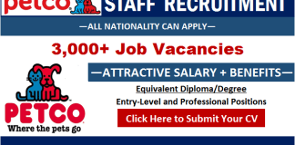 Petco Careers and Job Vacancy Openings Submit Job Application to Latest Hiring