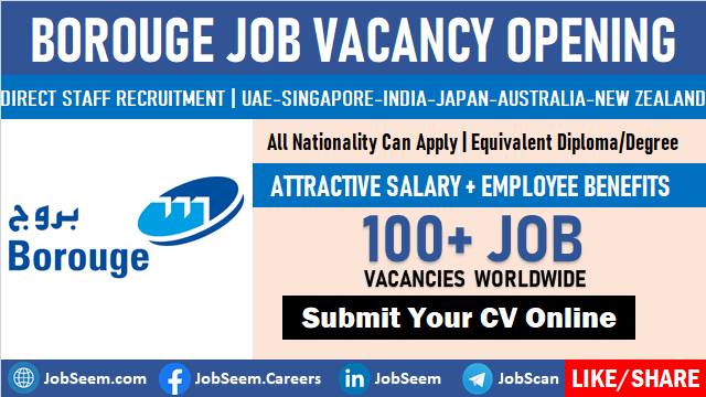 Borouge Careers Recruitment and Job Vacancy Openings