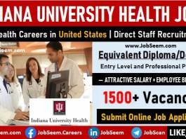 IU Health Careers Recruitment, Indiana University Health Job Vacancies in United States