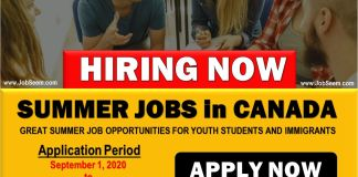 Canadian Government Summer Job Program for Students, Internship and Youths