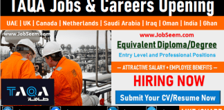 TAQA Job and Careers Opening Worldwide