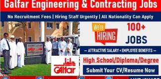 Galfar Emirates Careers Engineering and Contracting Job Vacancy Openings