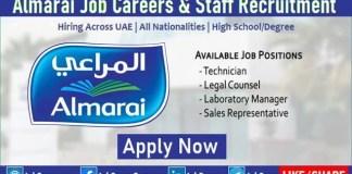 Almarai Careers Food Company Job Openings in Dubai UAE and Saudi Arabia