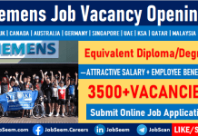 Siemens Careers Hiring Staffs in Energy and Engineering Job Vacancies Worldwide