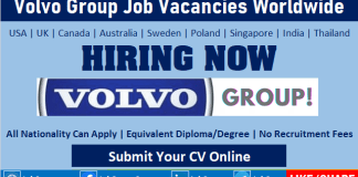Volvo Group Job Vacancy Openings Volvo Careers and Employment Opportunities Worldwide
