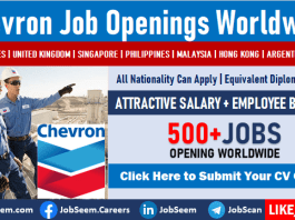Chevron Careers Recruitment and Employment Entry Level Jobs Vacancies and Interns Opportunities