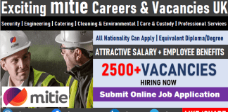 Mitie Careers in United Kingdom Security Job Vacancies Submit Online Job Application