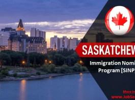 Saskatchewan Immigration Nominee Program SINP Canada Apply for Permanent Residency