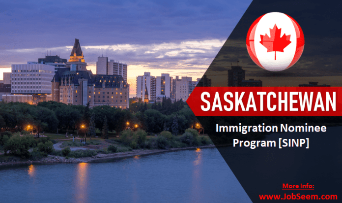 Saskatchewan Immigration Nominee Program SINP Canada Apply for Permanent Residency