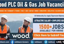 Wood PLC Careers and Staff Recruitment Multiple Oil & Gas Job Vacancies Worldwide