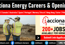 Acciona Energy Careers Vacancies and Staff Recruitment Worldwide Job Openings