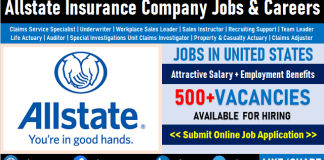 Allstate Careers Opening Insurance Job Vacancies and Employment Opportunities