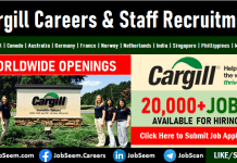 Cargill Careers Vacancies Submit Job Application Online for Recruitment Process