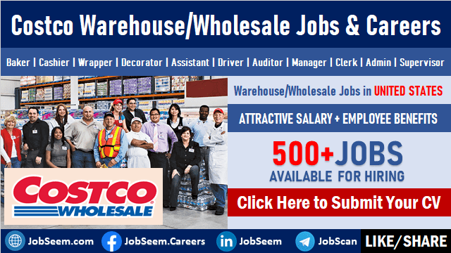 Costco Jobs Recruitment Exciting Wholesale Warehouse Careers and Employment Website is Hiring Now