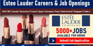 Estee Lauder Careers Recruitment and Jobs, Employment, Internship Opportunities