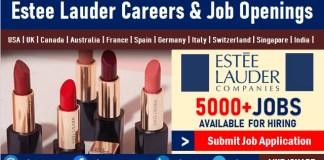 Estee Lauder Careers Recruitment and Jobs, Employment, Internship Opportunities