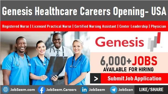 Genesis Healthcare Careers Openings Genesis Healthcare System Jobs, Employment Opportunities