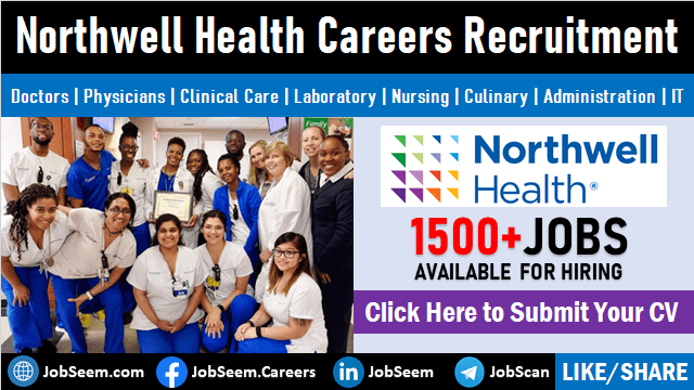 Northwell Health Jobs and Careers Recruitment Current Vacancy Openings and Student Internships