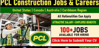 PCL Construction Jobs Opening Direct Staff Recruitment and Careers Hiring