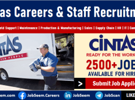 Cintas Jobs and Recruitment in United States Exciting Careers and Employment Openings