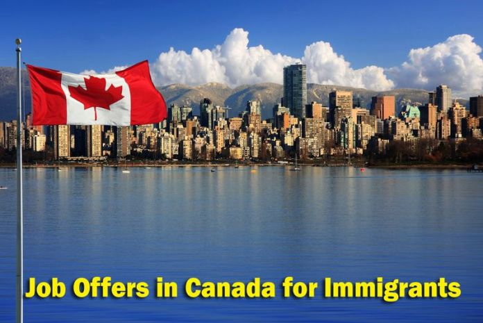 Job Offers in Canada for Immigrants
