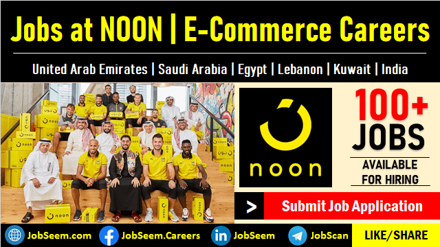 Noon Careers Warehouse, Delivery, Courier, Driver and Academy Job Vacancies