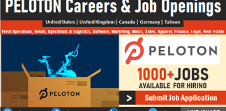 Peloton Jobs, Vacancies, Careers and Employment Online, Submit Job Application