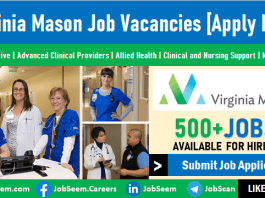 Virginia Mason Jobs Opening, Medical Center Careers and Recruitment in United States