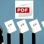 Converting Job-Related Documents to PDF File Format Online